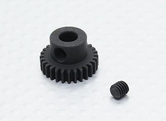 28T / 5 mm 48 Passo Hardened pinhão Aço