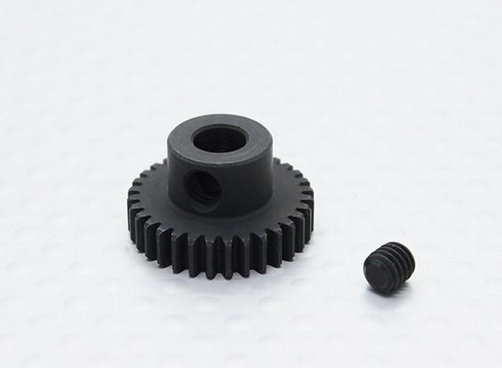 32T / 5 mm 48 Passo Hardened pinhão Aço