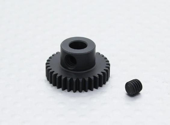 33T / 5 mm 48 Passo Hardened pinhão Aço