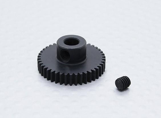 42T / 5 mm 48 Passo Hardened pinhão Aço