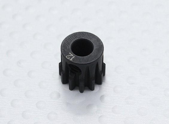12T / 5 mm 32 Passo Hardened pinhão Aço