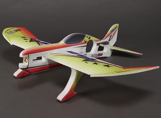 HobbyKing® ™ Fidget Funfly Aerobatic EPP Avião w / 840 milímetros Motor (ARF)