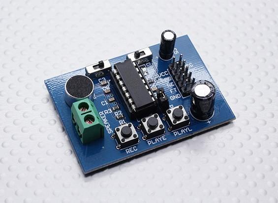 Kingduino ISD1820 Compatível gravação de voz e Módulo de Reprodução