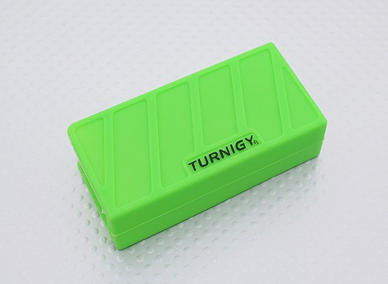 Turnigy silicone suave Lipo Battery Protector (1000-1300mAh 3S verde) 74x36x21mm