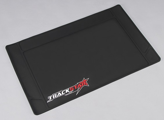 TrackStar Rubber R / C tapete de trabalho (640 x 400 mm)