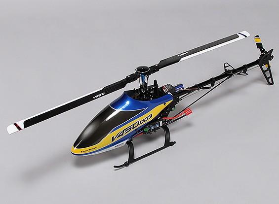 Helicóptero Walkera V450D03 Flybarless com 6 eixos Gyro - Modo 1 (RTF)