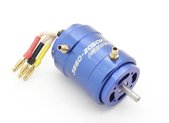 Turnigy AquaStar 3660-2050KV resfriada a água sem escova Motor