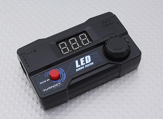 LED Turnigy Servo Tester para 4 Servo de