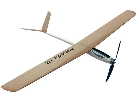 Alpha-EV 1M alta Peformance Composite planador motorizado (ARF)