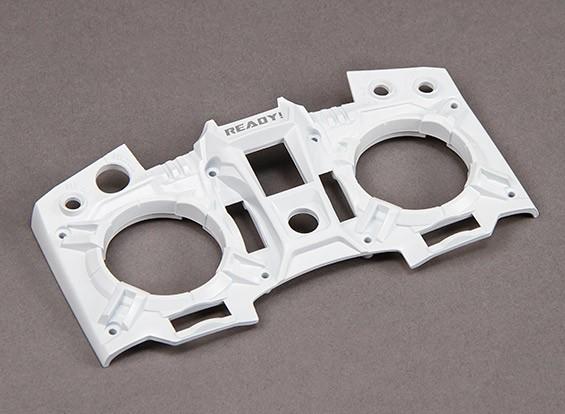 Turnigy 9XR Transmissor personalizado Faceplate - Storm Trooper Branco