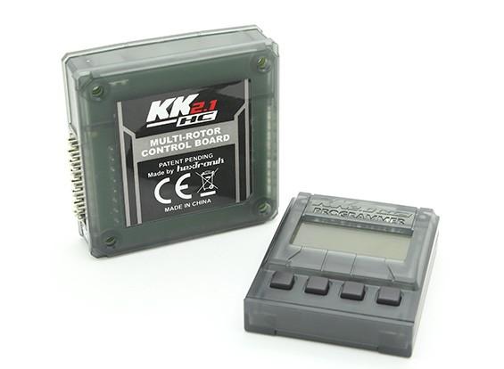 HobbyKing KK2.1HC Multi-Rotor Hard Case Board Flight Control Com Programador Remoto