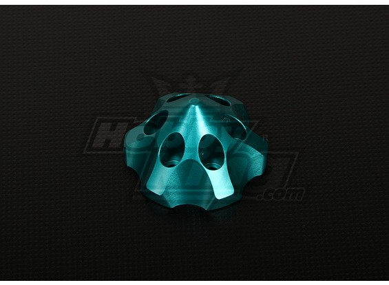 Spinner 3D para DLE111 / DA100 / TMM-53 / TMM-106 / 3W 50-100 (verde)