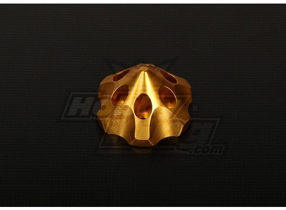 Spinner 3D para DLE111 / DA100 / TMM-53 / TMM-106 / 3W 50-100 (dourado)