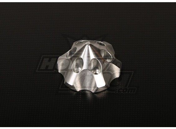 Spinner 3D para DLE111 / DA100 / TMM-53 / TMM-106 / 3W 50-100 (Silver)