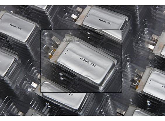 ZIPPY 400mAh 20C Single Cell