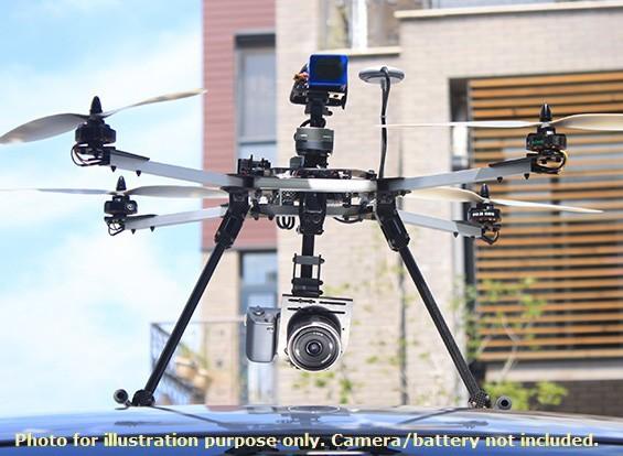 ZeroUAV ZERO-Steadi470 Sistema Quadrotor Fotografia aérea (YS-X6-P Sistema de Controle de Vôo) (PNF)