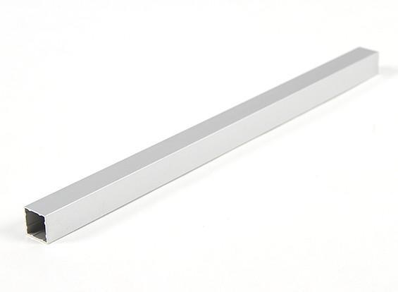 Alumínio tubo quadrado DIY Multi-Rotor 12.8x12.8x230mm (.5Inch) (Silver)