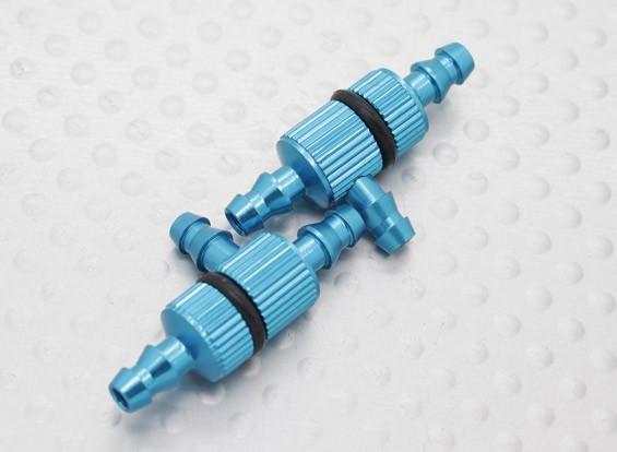 Alumínio anodizado T-articulações Filtros (2pcs / bag)