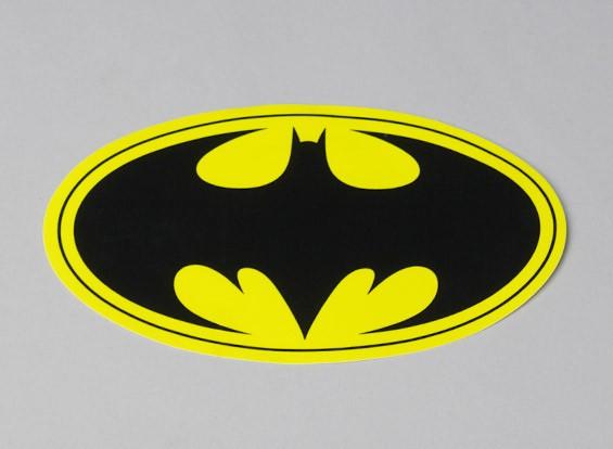 Bat Decal 180 milímetros x 105 milímetros