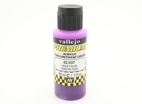Vallejo cor Premium tinta acrílica - Violet Fluo (60 ml)