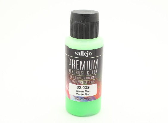 Vallejo Premium Color Pintura acrílica - Green Fluo (60 ml)