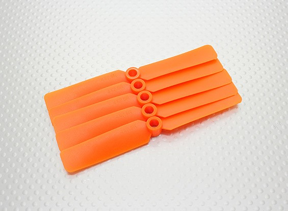 Hobbyking ™ Hélice 4x2.5 Orange (CW) (5pcs)