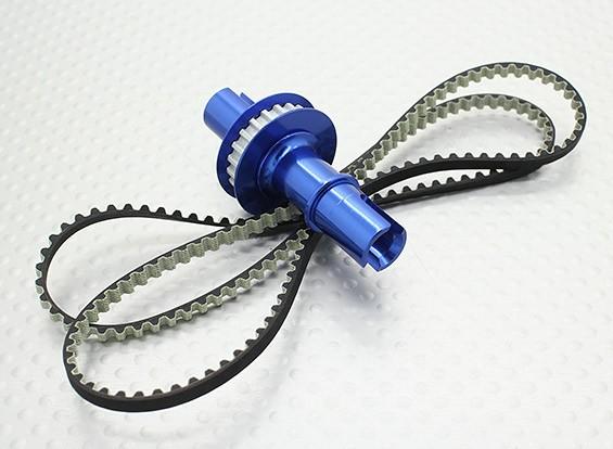 1.8 Relação Contador fixo Axle Set - 1/10 Hobbyking Mission-D 4WD