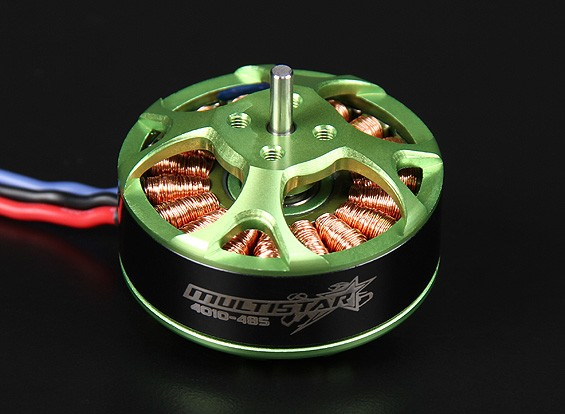 4010-485KV Turnigy Multistar 22 Pole sem escova Multi-rotor do motor com as ligações extra-longas