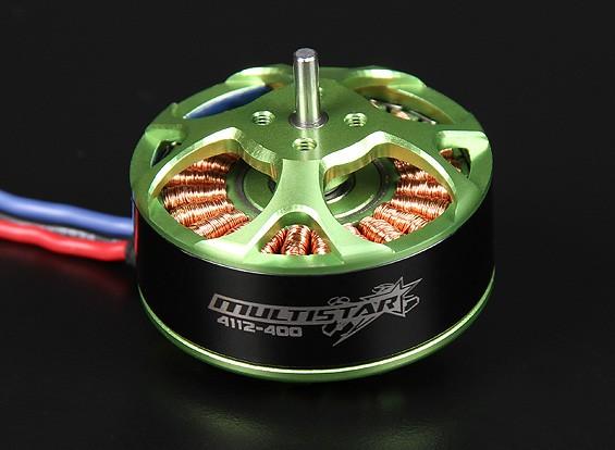 4112-400KV Turnigy Multistar 22 Pole sem escova Multi-rotor do motor com as ligações extra-longas