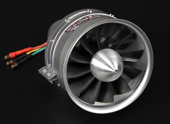 Dr. Mad Thrust 120 milímetros 12-Blade Liga EDF 650kv Motor - 6300 watts (12s)