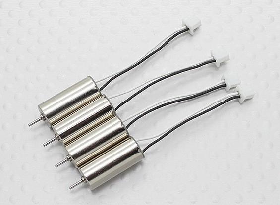 0716 Replacement escovado Set HobbyKing bolso Quad V1.1 Quadrotor (4pc)