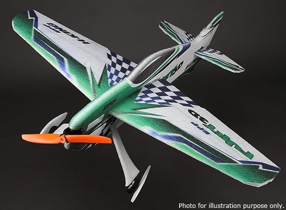 HobbyKing® ™ Fúria 3D Aerobatic EPP Avião 800 milímetros (ARF)