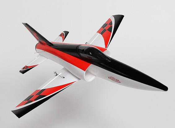 HobbyKing® ™ Mini Katana EDF Desporto Jet EPO 600 milímetros (PNF)