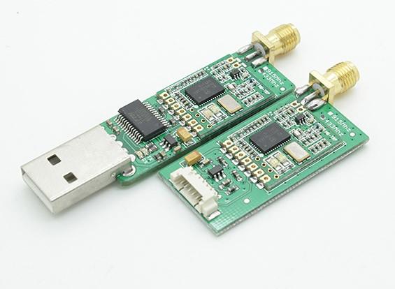 Rádio FPV 433Mhz Telemetria Kit 100mW V1.1