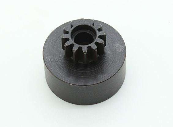 Substituição 12T aço temperado Clutch Bell - Trooper Nitro (1pc)