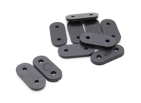 Landing Gear cintas (Black) 10pc
