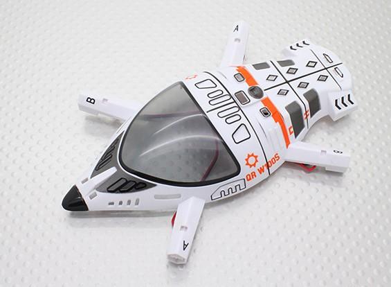 tampa superior do corpo - Walkera QR W100S Wi-Fi FPV Micro Quadrotor