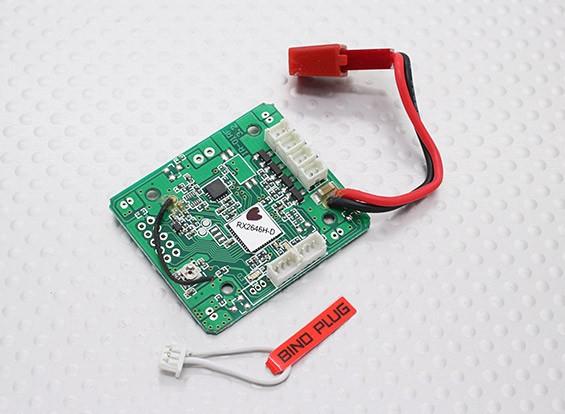 Placa Principal (RX2646H-DS) - Walkera QR W100S Wi-Fi FPV Micro Quadrotor