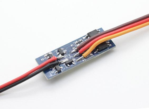 Turnigy metal Retração - Substituição PCB pequeno
