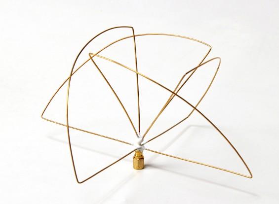 900Mhz Circular polarizada antena do receptor (SMA) (LHCP) (Short)