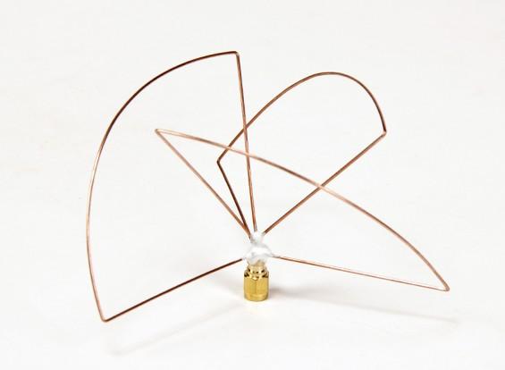 1.2GHz polarizada Circular Transmissor da antena (SMA) (LHCP) (Short)