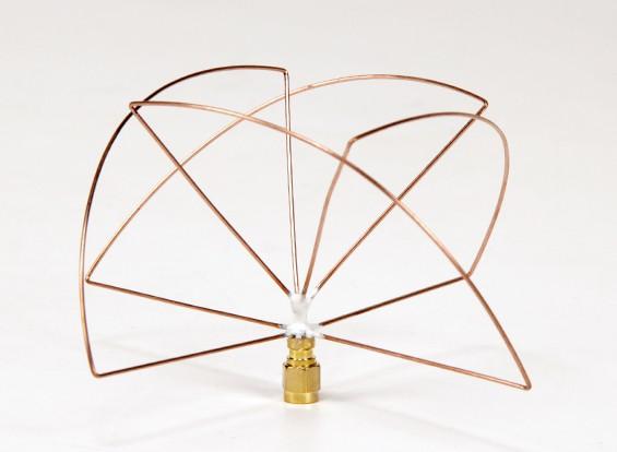 1.2GHz polarizada Circular receptor de antena (SMA) (LHCP) (Short)