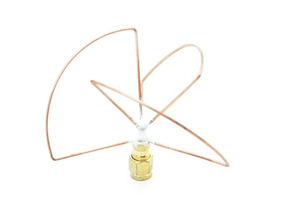 2.4GHz Circular polarizada antena SMA transmissor só (Short)
