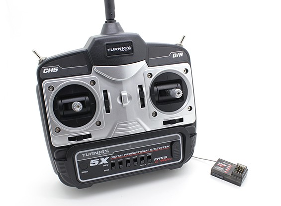 Turnigy 5X 5Ch Mini transmissor e receptor (Modo 1)