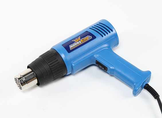 Saída Dual Power Heat Gun 750W / 1500W (230V / versão 50Hz) com Plug UK