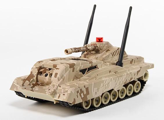 Multimedia Battle Tank com streaming de vídeo e Night Vision Wi-Fi