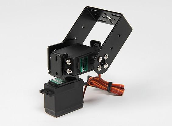 Pesado Kit Dever Pan e Tilt base com 160deg Servos Robotic Limb ou Rastreio Antena (Arm Long)