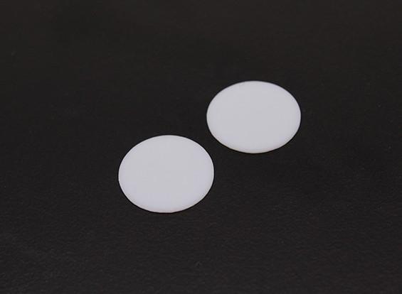 Cox 0,049 Diesel Teflon substituição de disco (2pcs)