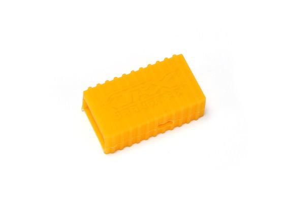 Capa OrangeRx Protecção de silicone para receptores de satélite