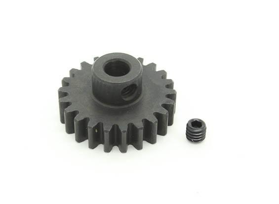 22T / 5 mm M1 Hardened pinhão Steel (1pc)